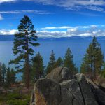 View of Lake Tahoe from Logan Shoals Vista Point--Photo credit Anne Roos