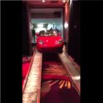 Red Porsche Boxster