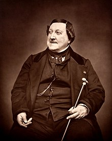 Gioachino Rossini (Photo: Étienne Carjat, 1865)