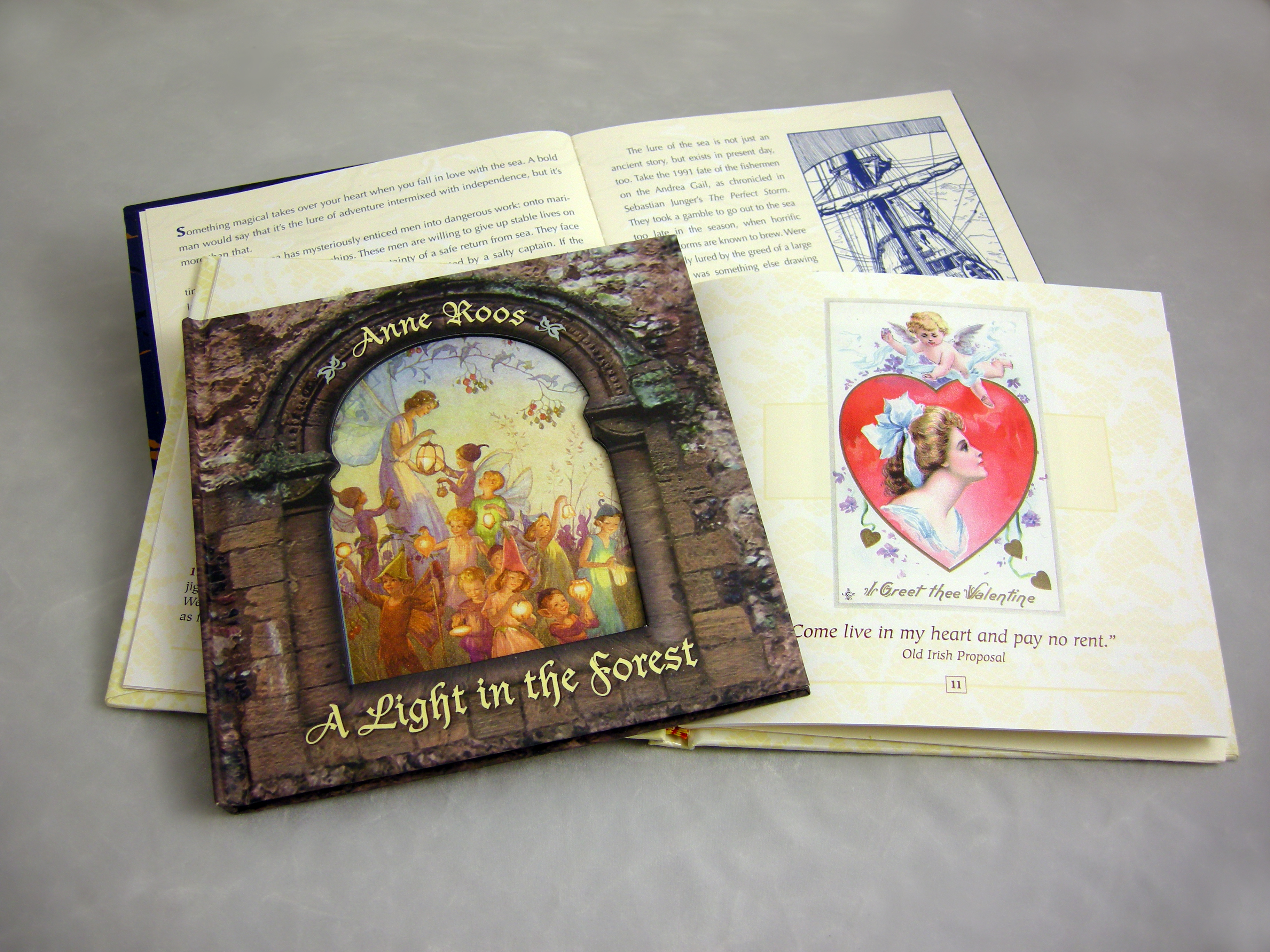 CD Books by Harpist Anne Roos