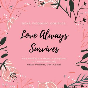 Letter to Wedding Couples